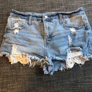 Mossimo women's denim shorts